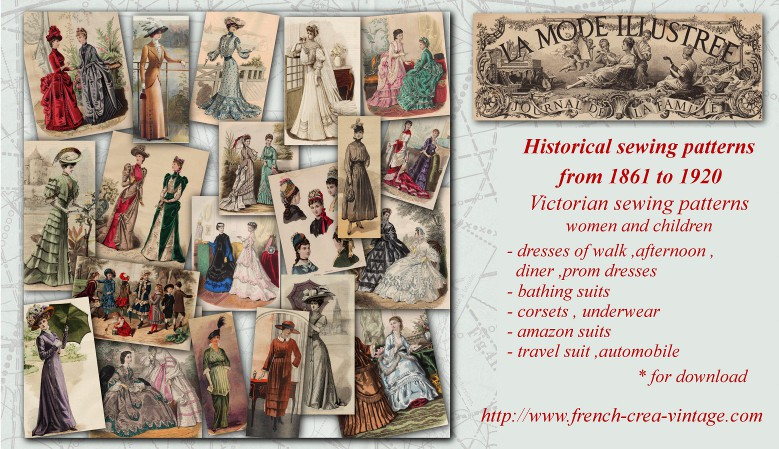 historical sewing patterns