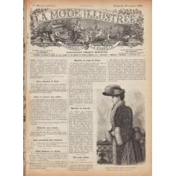 Revue complète de La Mode Illustrée 1889 N°42
