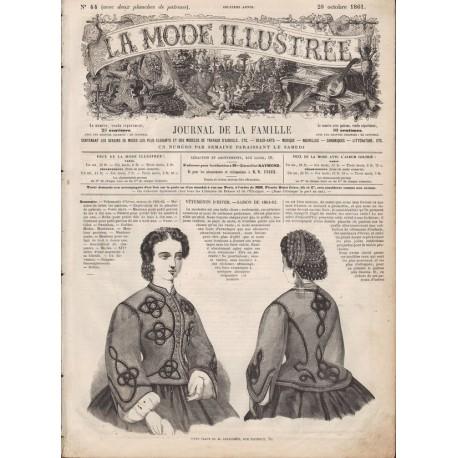 Revue complète de La Mode Illustrée 1861 N°44