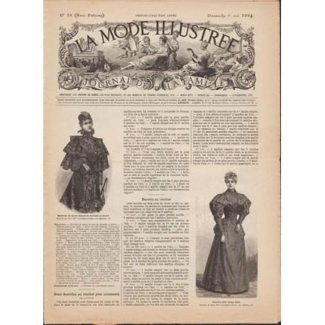 Revue complète de La Mode Illustrée 1894 N°18