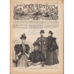 Revue complète de La Mode Illustrée 1894 N°38