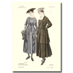 Gravure Journal des Demoiselles 1917 5399