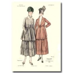 Gravure Journal des Demoiselles 1917 5406