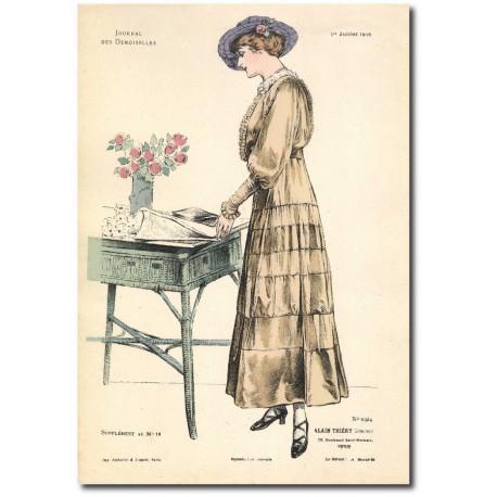 Gravure Journal des Demoiselles 1915 5324b