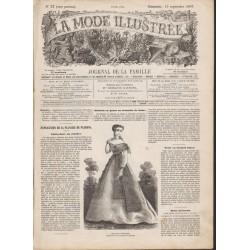 Complete magazine La Mode Illustrée 1867 N°37