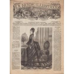 Complete magazine La Mode Illustrée 1875 N°19