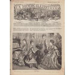 Complete magazine La Mode Illustrée 1875 N°04