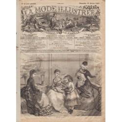 Complete magazine La Mode Illustrée 1869 N°08