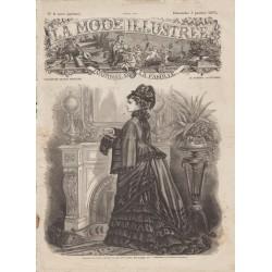 Complete magazine La Mode Illustrée 1875 N°01