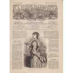 Complete magazine La Mode Illustrée 1883 N°01