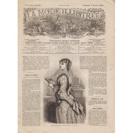 Revue complète de La Mode Illustrée 1883 N°01