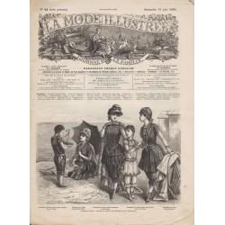 Revue complète de La Mode Illustrée 1886 N°24