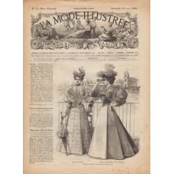 Complete magazine La Mode Illustrée 1895 N°20