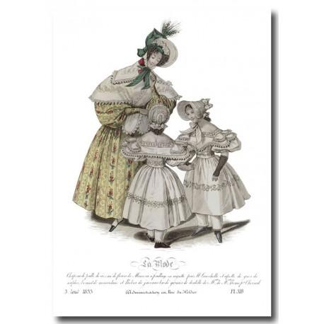 La Mode 1833 318