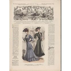 Complete magazine La Mode Illustrée 1904 N°47