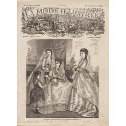 Complete magazine La Mode Illustrée 1870 N°32