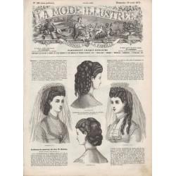 Complete magazine La Mode Illustrée 1871 N°18