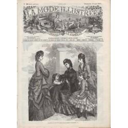 Complete magazine La Mode Illustrée 1871 N°20