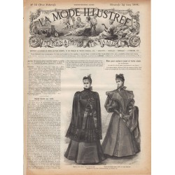 Complete magazine La Mode Illustrée 1895 N°12