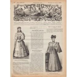 Complete magazine La Mode Illustrée 1895 N°07