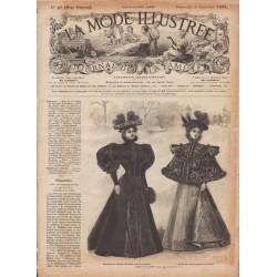 Complete magazine La Mode Illustrée 1895 N°49