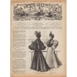 Complete magazine La Mode Illustrée 1895 N°14
