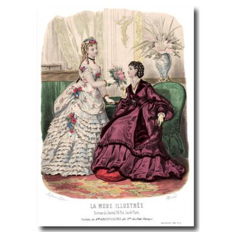 La Mode Illustrée 1870 4