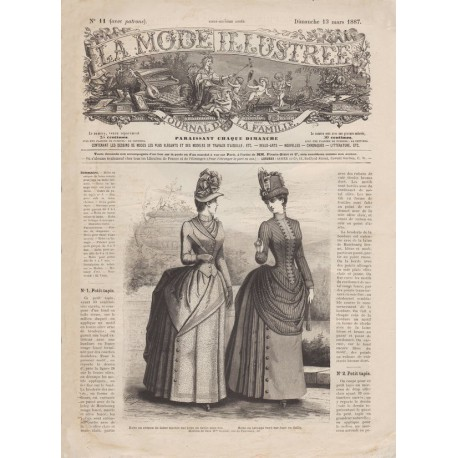 Revue complète de La Mode Illustrée 1887 N°11