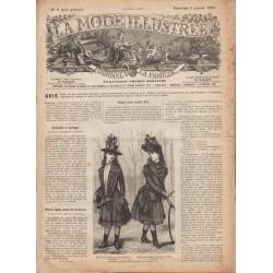 Revue complète de La Mode Illustrée 1889 N°1