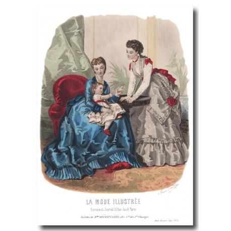 La Mode Illustrée 1870 11