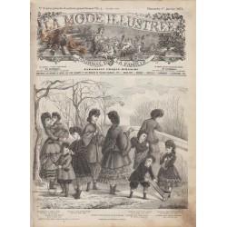Complete magazine La Mode Illustrée 1871 N°01