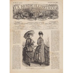 Revue complète de La Mode Illustrée 1885 N°18