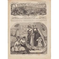 Complete magazine La Mode Illustrée 1885 N°22