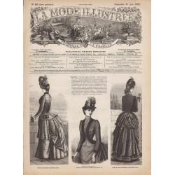 Revue complète de La Mode Illustrée 1885 N°25