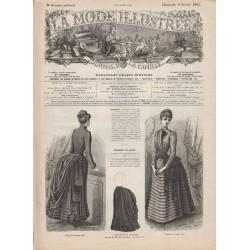 Revue complète de La Mode Illustrée 1885 N°06