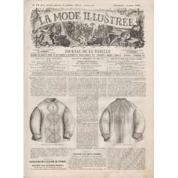 Revue complète de La Mode Illustrée 1866 N°10