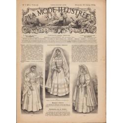 Complete magazine La Mode Illustrée 1894 N°7