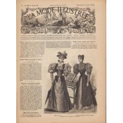Complete magazine La Mode Illustrée 1894 N°14
