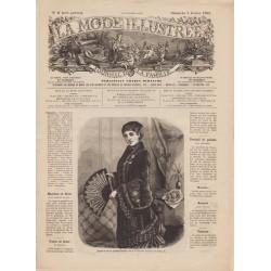 Complete magazine La Mode Illustrée 1882 N°06