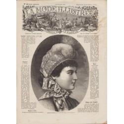 Complete magazine La Mode Illustrée 1882 N°45