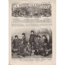 Revue complète de La Mode Illustrée 1882 N°17