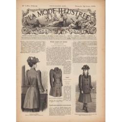 Complete magazine La Mode Illustrée 1892 N°07
