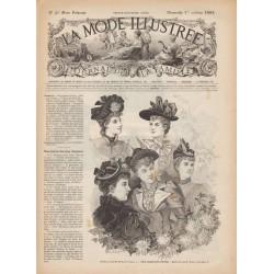 Complete magazine La Mode Illustrée 1893 N°40