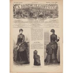 Revue complète de La Mode Illustrée 1884 N°5