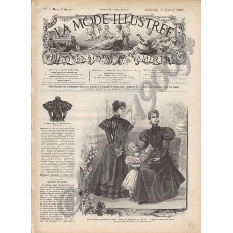 Complete magazine La Mode Illustrée 1897 N°05
