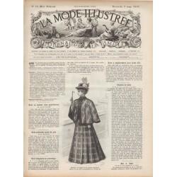 Revue complète de La Mode Illustrée 1897 N°10