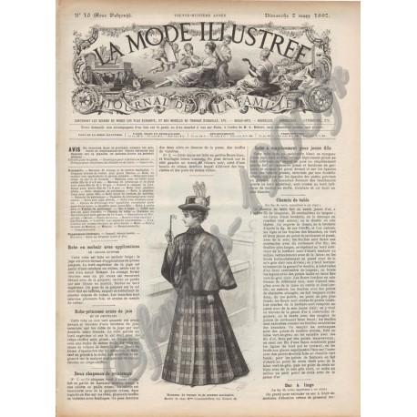 Complete magazine La Mode Illustrée 1897 N°10