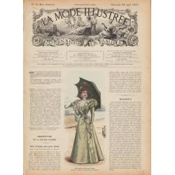 Revue complète de La Mode Illustrée 1897 N°16
