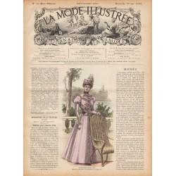 Revue complète de La Mode Illustrée 1897 N°25
