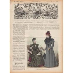 Complete magazine La Mode Illustrée 1897 N°40